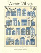 Winter Village quilt sewing pattern from Laundry Basket Quilts
