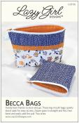 Becca Bags sewing pattern from Lazy Girl Designs
