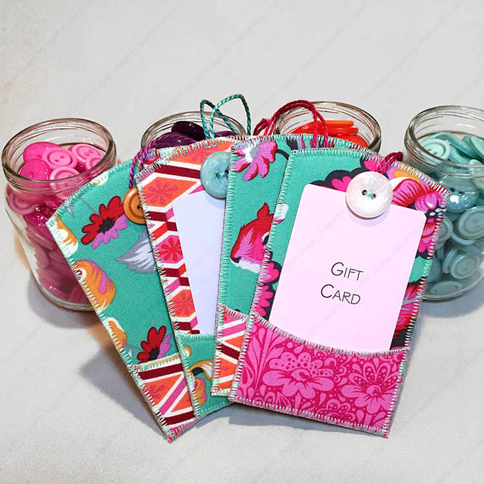 Gifty Card Holder Sewing Pattern Lazy Girl Designs