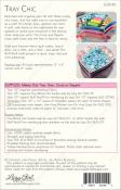 Tray Chic sewing pattern Lazy Girl Designs 1