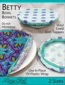 Betty Bowl Bonnets sewing pattern from Lazy Girl Designs
