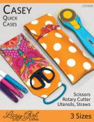 Casey Quick Cases sewing pattern from Lazy Girl Designs