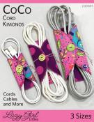 CoCo Cord Kimonos sewing pattern from Lazy Girl Designs