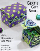 Gertie Gift Boxes sewing pattern Lazy Girl Designs 3
