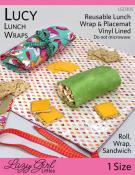 CLOSEOUT...Lucy Lunch Wrap sewing pattern from Lazy Girl Designs