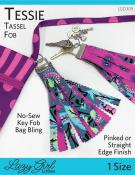 INVENTORY REDUCTION...Tessie Tassel Fob sewing pattern from Lazy Girl Designs