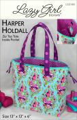 Harper Holdall sewing pattern from Lazy Girl Designs