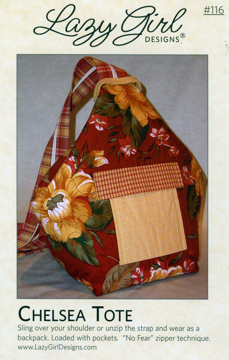 chelsea tote sewing pattern from lazy girl designs