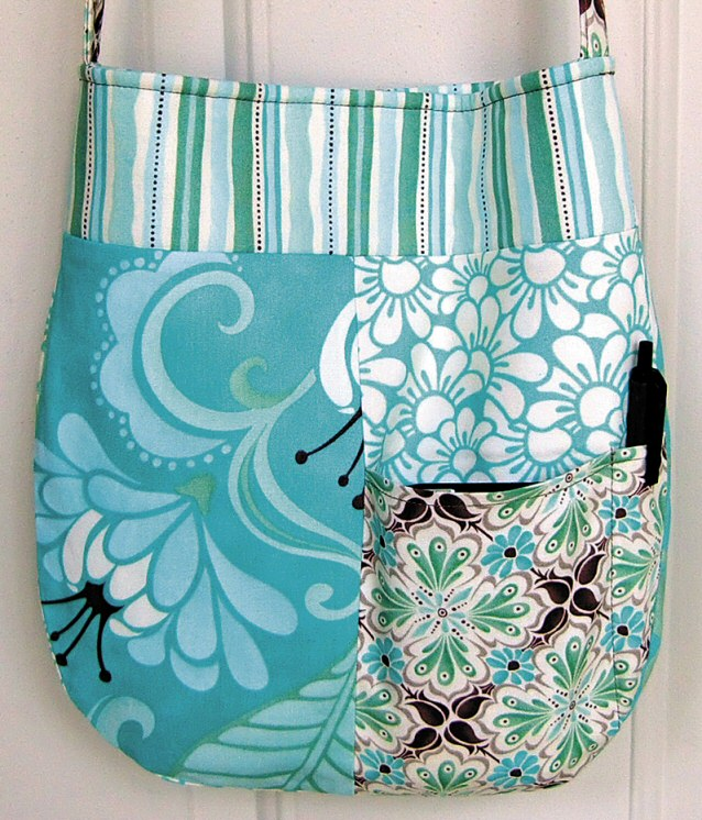 Lily Pocket Purse pattern from Lazy Girl Designs