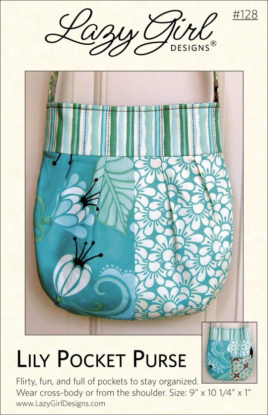 Lily Pocket Purse Sewing Pattern From Lazy Girl Designs