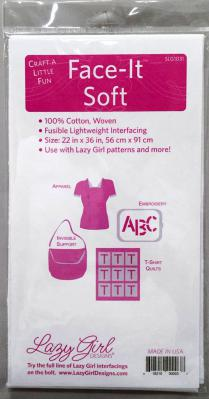 Face It SOFT Fusible Interfacing CRAFT PACK from Lazy Girl Designs