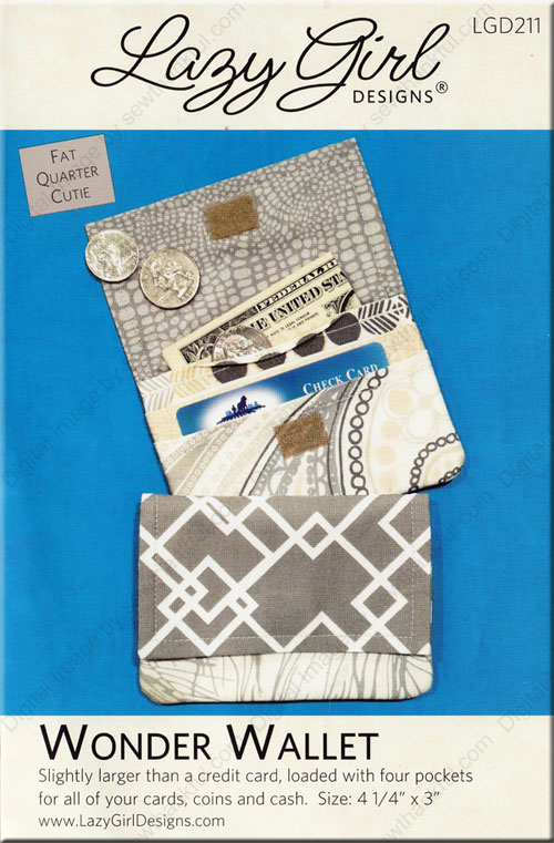 Wonder Wallet Pattern From Lazy Girl Designs