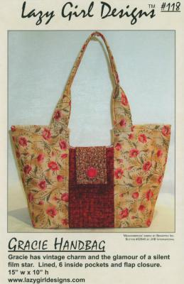 Gracie Handbag sewing pattern from Lazy Girl Designs