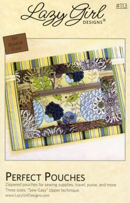 Perfect Pouches sewing pattern from Lazy Girl Designs