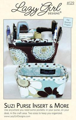 Suzi Purse Insert & More sewing pattern from Lazy Girl Designs