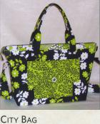 City Bag sewing pattern from Lazy Girl Designs 2