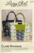 Claire Handbag sewing pattern from Lazy Girl Designs