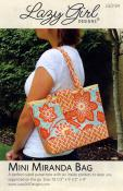 Mini Miranda Bag sewing pattern from Lazy Girl Designs