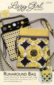CLOSEOUT...Runaround Bag sewing pattern from Lazy Girl Designs