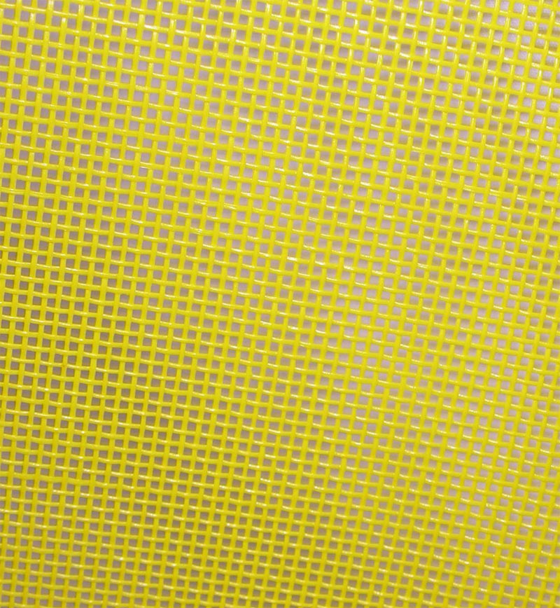 Vinyl-Mesh-fabric-Lyle-Enterprises-Yellow