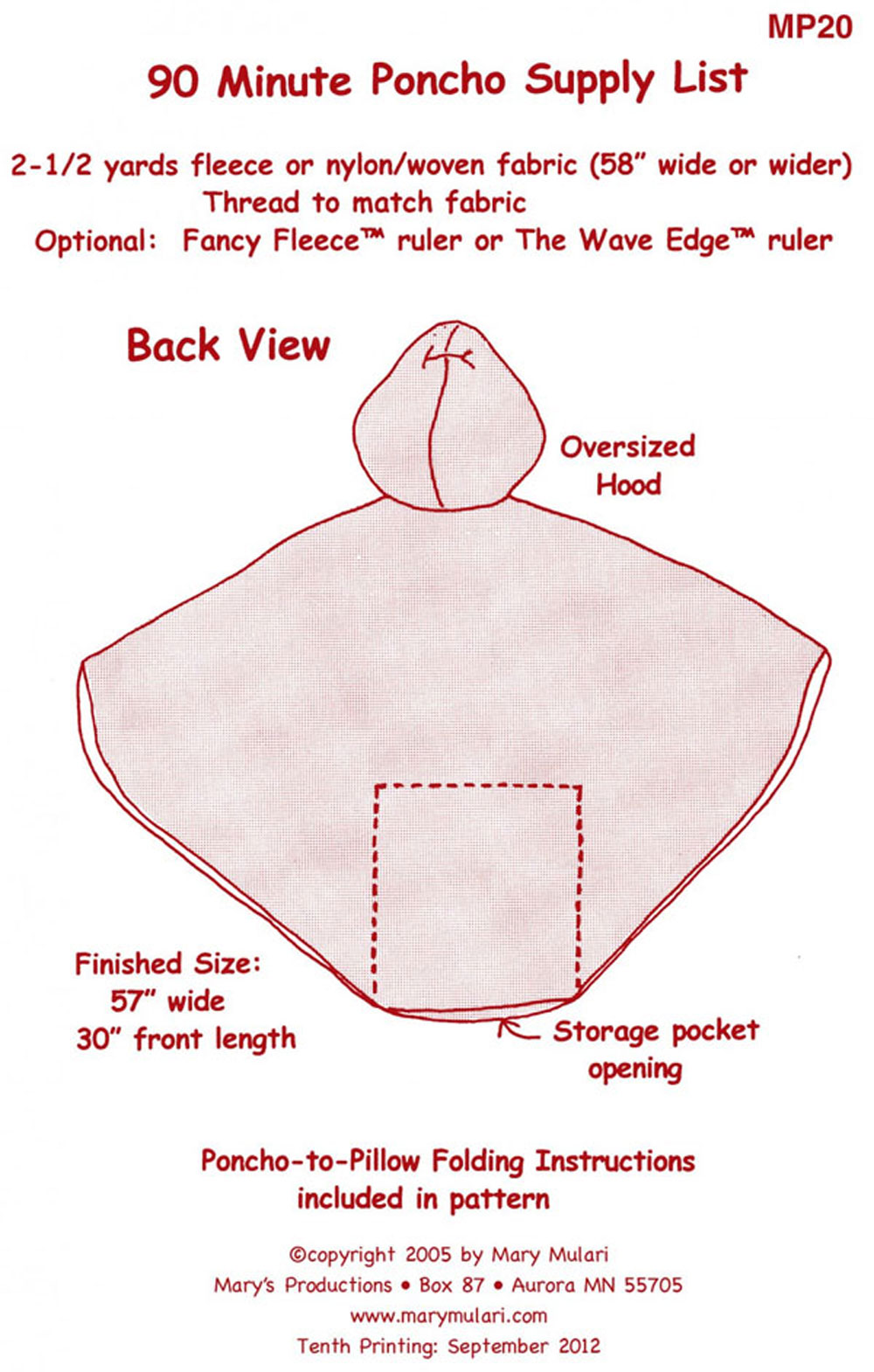 90-Minute-Poncho-for-Adults-Teens-sewing-pattern-Mary-Mulari-back