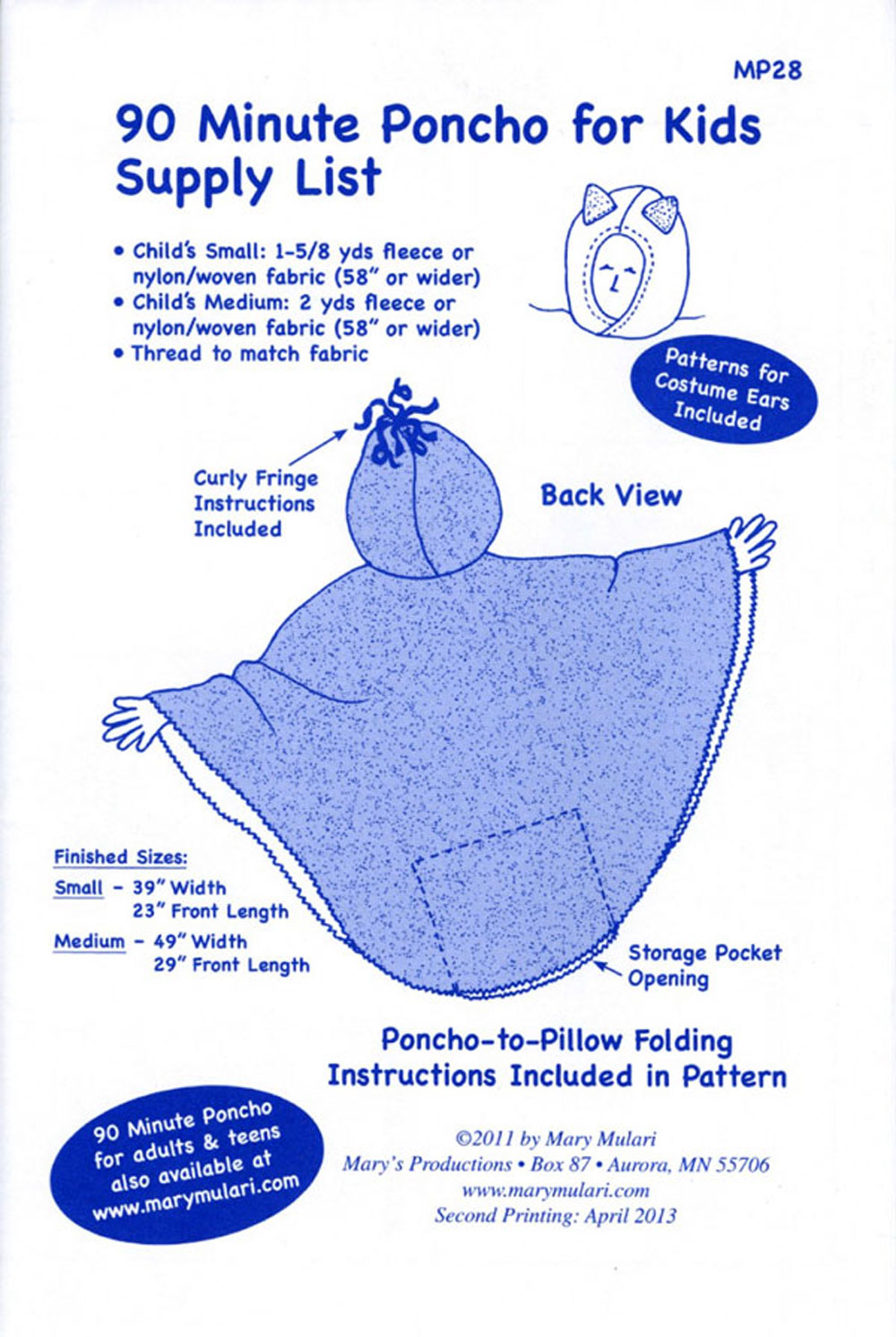 90-Minute-Poncho-for-Kids-sewing-pattern-Mary-Mulari-back