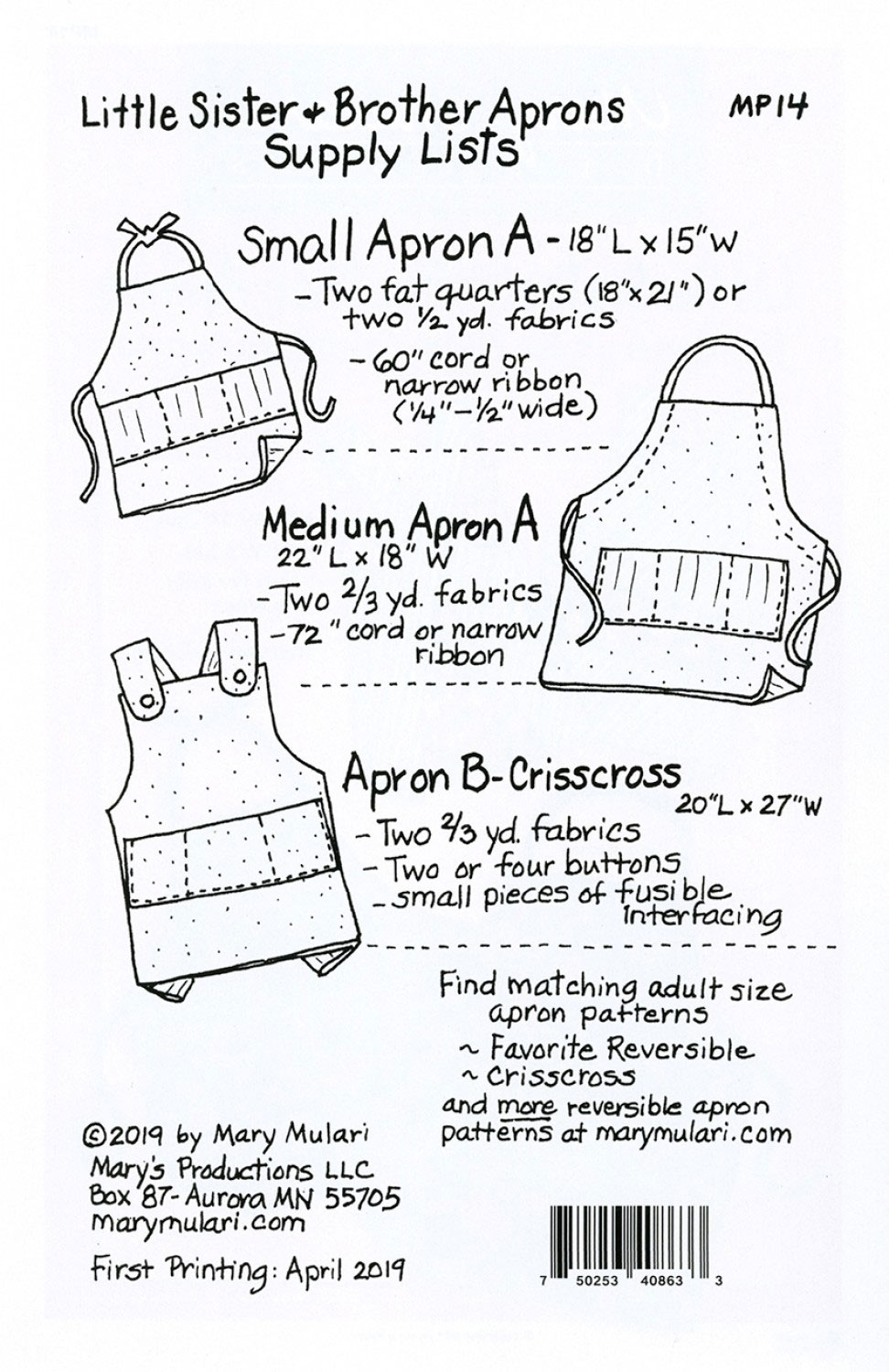 little-sister-brother-Apron-Pattern-Mary-Mulari-back