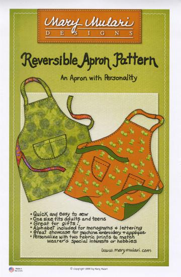 Reversible Apron Pattern from Mary Mulari Designs