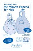 90 Minute Poncho for Kids sewing pattern from Mary Mulari Designs