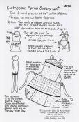 Clothespin Apron Pattern from Mary Mulari Designs 2
