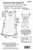 Crisscross Apron sewing pattern from Mary Mulari Designs 1