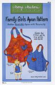 Family Girls Apron Pattern from Mary Mulari Designs