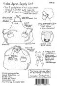 Viola Apron sewing pattern from Mary Mulari Designs 1