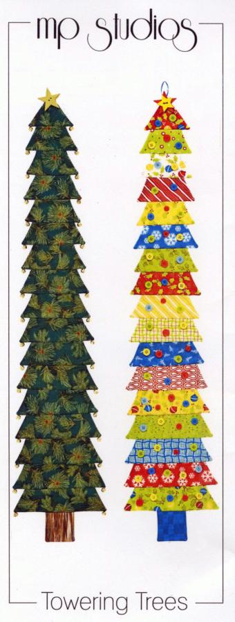 Towering Trees wall hanging sewing pattern from Material Possessions Studios
