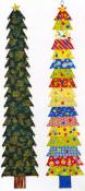 Towering Trees wall hanging sewing pattern from Material Possessions Studios 2