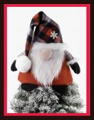 EARLY JINGLE BELL SPECIAL (expires 11:59PM ET on 10/20/21)...Holiday Gnome Tree Topper sewing pattern from More Splash Than Cash 2