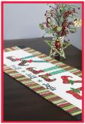 Holly Jolly Jingle Table Runner sewing pattern from More Splash Than Cash 2