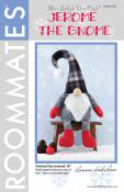 Jerome The Gnome sewing pattern from More Splash Than Cash