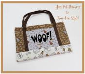 INVENTORY REDUCTION...Woof! Portable Dog Blanket sewing pattern from More Splash Than Cash 2