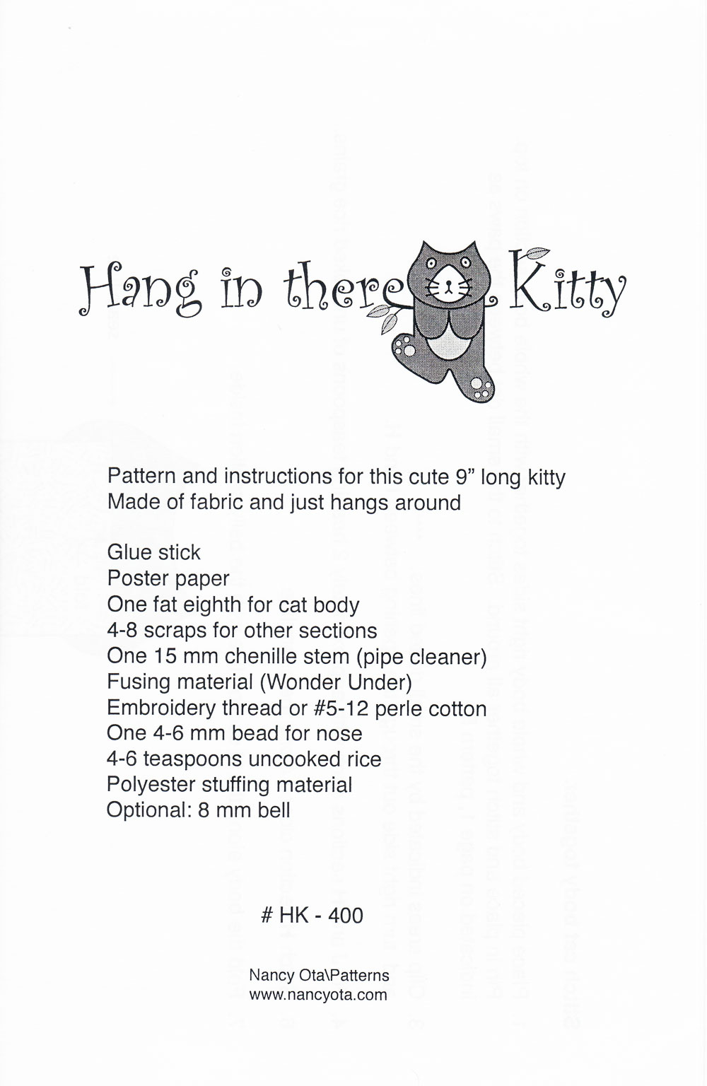 Hang-In-There-Kitty-sewing-pattern-nancy-ota-back