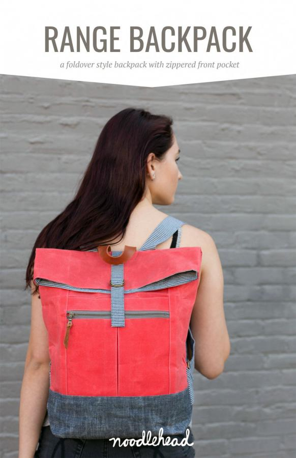 Range Backpack sewing pattern from Noodlehead