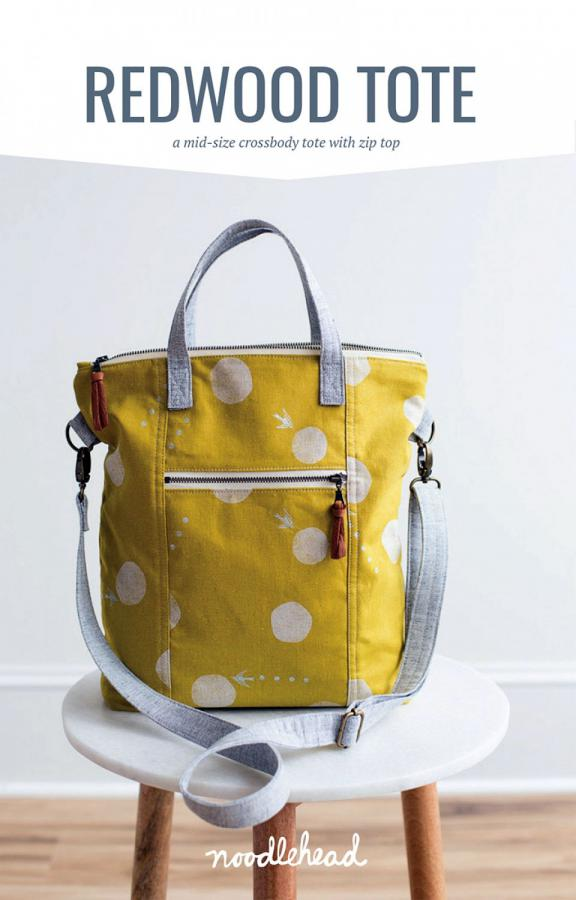 Redwood Tote sewing pattern from Noodlehead