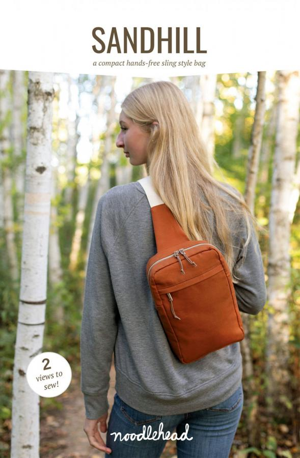 Sandhill Sling sewing pattern from Noodlehead