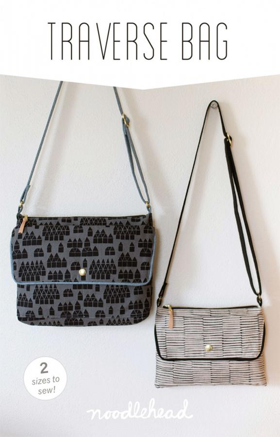 Traverse Bag sewing pattern from Noodlehead