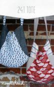 241 Tote sewing pattern from Noodlehead