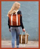 Buckthorn Backpack & Tote sewing pattern from Noodlehead 2