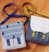 Campfire Messenger Bag sewing pattern from Noodlehead 2