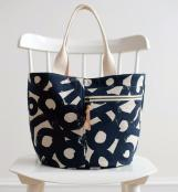 Crescent Tote sewing pattern from Noodlehead 2