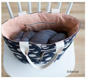 Crescent Tote sewing pattern from Noodlehead 3