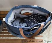 Explorer Tote sewing pattern from Noodlehead 3